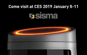 SISMA at CES – Las Vegas 2019