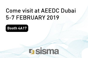 SISMA at AEEDC DUBAI 2019
