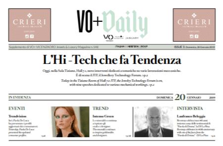 VicenzaOro Daily – SISMA S.p.A.