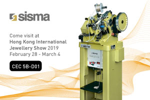 SISMA at Hong Kong International Jewellery Show 2019