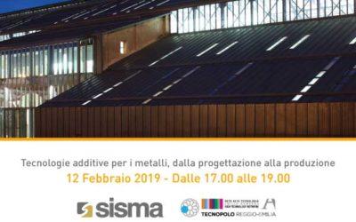 SISMA al Tecnopolo di Reggio Emilia
