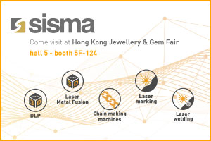 SISMA at HONG KONG JEWELLERY & GEM FAIR 2019