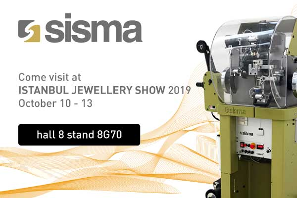 SISMA at ISTANBUL JEWELLERY SHOW 2019