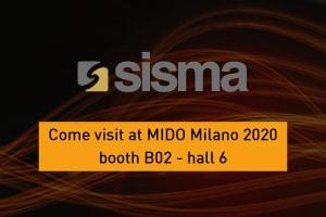 SISMA at MIDO Milano 2020