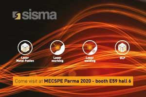 SISMA at MECSPE PARMA 2020