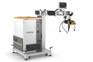 SWA, laser welding and mold maintenance system with fiber source.